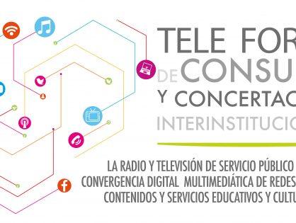 Tercer tele foro de  consulta y concertación interinstitucional