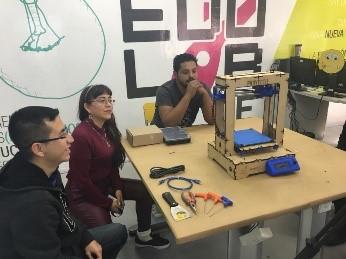 Drones e Impresión 3D en el ILCE