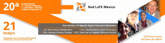 Panel: Una mirada a la Agenda Digital Educativa Mexicana